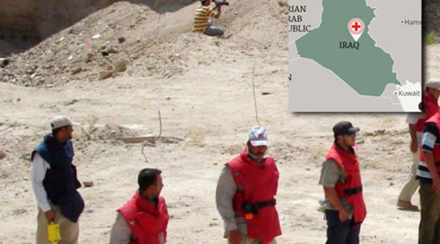 SHDI sends 4 more demining units to Iraq